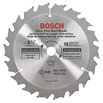 Picture of Bosch CBCL618A 6-12 in 18 Tooth Circular Saw Blades